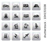 signs. travel  recreation  ... | Shutterstock .eps vector #104153108