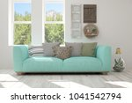 idea of white room with sofa... | Shutterstock . vector #1041542794