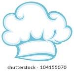 chef hat. vector | Shutterstock .eps vector #104155070