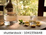 Small photo of Mezcal is a distilled alcoholic beverage made from any type of agave plant native to Mexico.
