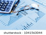 business and financial concept... | Shutterstock . vector #1041563044