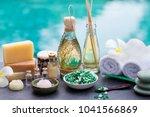 spa and wellness massage... | Shutterstock . vector #1041566869