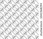 seamless geometric ornamental... | Shutterstock .eps vector #1041568294