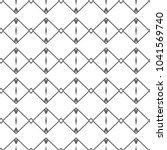 seamless vector pattern in... | Shutterstock .eps vector #1041569740