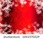 snowflake background design | Shutterstock . vector #1041570229