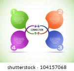 vector progress background  ... | Shutterstock .eps vector #104157068