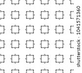 seamless vector pattern in... | Shutterstock .eps vector #1041571360