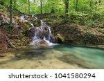beusnita river in beusnita... | Shutterstock . vector #1041580294