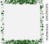 clover green is a confetti... | Shutterstock .eps vector #1041592393