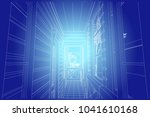 the author's architectural... | Shutterstock .eps vector #1041610168