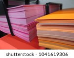 Reams Of Colored Papers