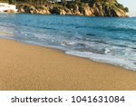 sea waves in the sand | Shutterstock . vector #1041631084