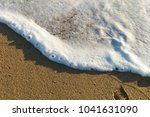 sea waves in the sand | Shutterstock . vector #1041631090