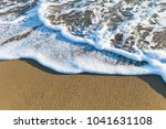 sea waves in the sand | Shutterstock . vector #1041631108