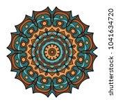 original circle ornament.... | Shutterstock .eps vector #1041634720