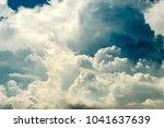 giant cumuloninbus cloud | Shutterstock . vector #1041637639