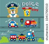 Bear The Police Funny Animal...