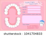 Tooth Fairy Report Card On The...