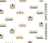 set collection crown logo design | Shutterstock .eps vector #1041715558