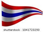 thailand flag  thailand ... | Shutterstock .eps vector #1041723250