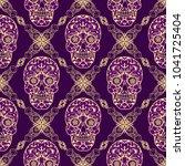 seamless texture  endless... | Shutterstock .eps vector #1041725404