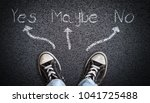 a teenager in jeans and canvas...   Shutterstock . vector #1041725488