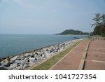beach in summer | Shutterstock . vector #1041727354
