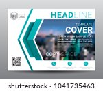 presentation layout design... | Shutterstock .eps vector #1041735463