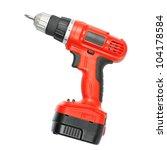 battery screwdriver or drill... | Shutterstock . vector #104178584