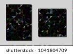 dark blackvector brochure for...