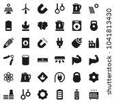 flat vector icon set   kettle... | Shutterstock .eps vector #1041813430