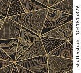 abstract seamless triangular...   Shutterstock .eps vector #1041815329