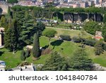 aerial drone view of the... | Shutterstock . vector #1041840784