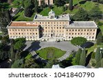 aerial drone view of the palace ... | Shutterstock . vector #1041840790