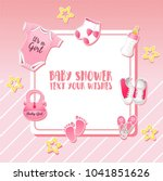 Baby Shower Set. Invitation...