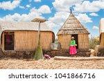 titicaca lake  puno  peru  ...   Shutterstock . vector #1041866716