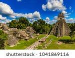 guatemala. tikal national park... | Shutterstock . vector #1041869116