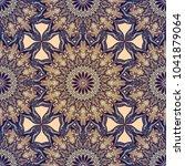 seamless pattern mandala... | Shutterstock .eps vector #1041879064