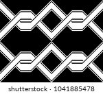 design seamless monochrome... | Shutterstock .eps vector #1041885478