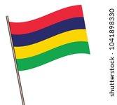flag of mauritius   mauritius... | Shutterstock .eps vector #1041898330