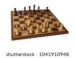 photos of chess openings. old...   Shutterstock . vector #1041910948