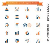 set of infographics elements.... | Shutterstock .eps vector #1041912220