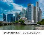 singapore   august 23 2017  ... | Shutterstock . vector #1041928144