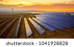 solar photovoltaic photographed ... | Shutterstock . vector #1041928828