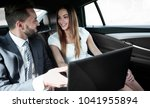 business man and woman working... | Shutterstock . vector #1041955894
