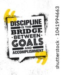 discipline is the bridge... | Shutterstock .eps vector #1041994663