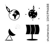 icon cosmos with planet  cosmos ...   Shutterstock .eps vector #1041996688