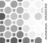 spotted black and white grunge... | Shutterstock .eps vector #1042001503