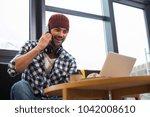 pleasant interaction. cheerful...   Shutterstock . vector #1042008610