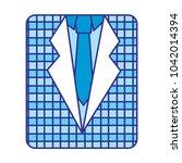 retro checkered shirt and...   Shutterstock .eps vector #1042014394